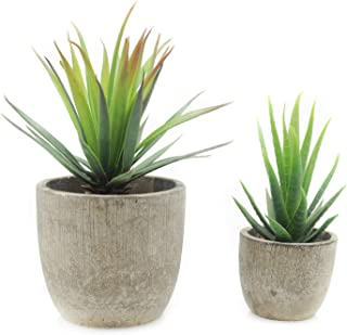 velener Mini Home Decoration Artificial Plants Aloe with Pots