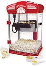 West Bend 82515 Hot Theater Style Popper Machine with Nonstick Kettle Includes Measuring..