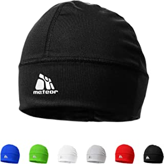 meteor Muts onder Fietshelm Skihelm - Rennende hoed - Beanie perfect voor heren dames jeugd kinderen - Unisex - One size -...