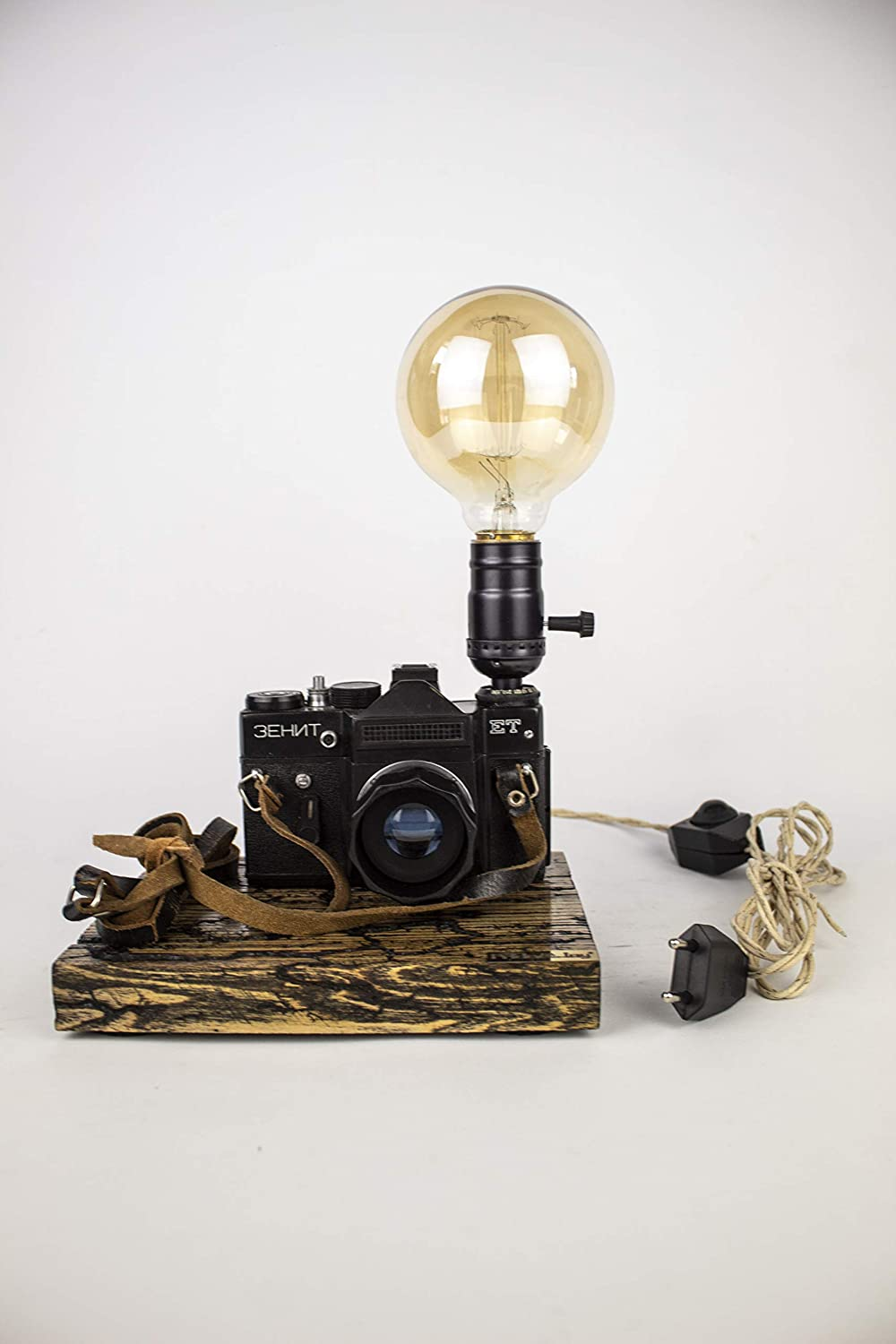 Table Opening large release sale lamp NEW before selling ☆ PrideJoy gifts for old camera him lights h