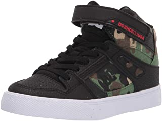 DC Boys' Pure High-Top AC Band Limited Edition Sneaker Skate Shoe
