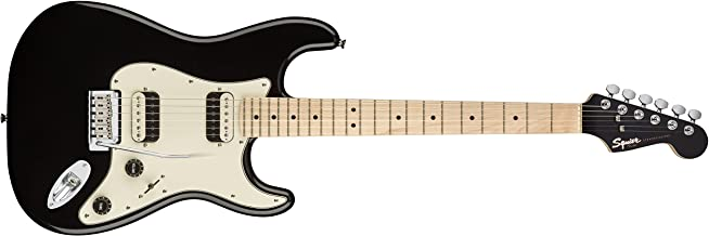 Best Squier by Fender Contemporary Stratocaster Electric Guitar - HH - Maple Fingerboard - Black Metallic Review