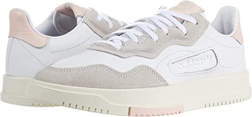 Footwear White/Footwear White/Icey Pink F17