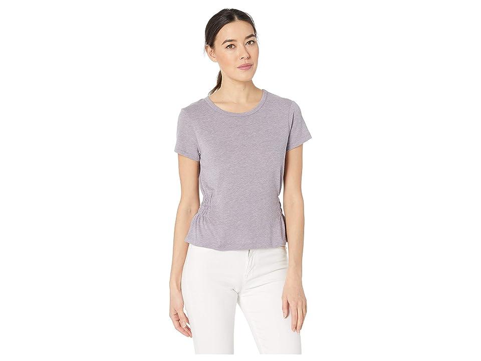 Alternative The Simone Shirred Tee (Eco Lavender Grey) Women