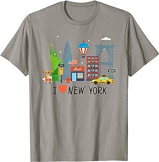 I Love New York City NY Tourist Gift Souvenir Shirt