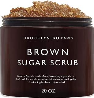 Sponsored Ad - Brooklyn Botany Brown Sugar Body Scrub - Great as a Face Scrub & Exfoliating Body Scrub for Acne Scars, Str...