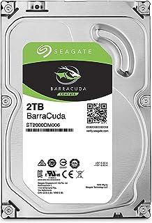 Seagate Barracuda 2TB 3.5 inch 64MB SATA 6Gb/s Cache up to 210MB/s Internal Hard Drive - Silver