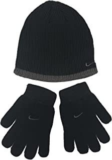 Boys Rib Knit Hat and Glove Set Size : Youth 8/20
