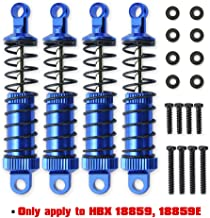 Haiboxing RC Cars Upgrade Parts Front&Rear Metal Oil Damper Shocks Apply to HBX 18859E