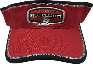 Chase Authentics Bill Elliott #9 Trackside Adjustable Visor Red