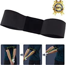 Golf Swing Training Aid Golf Arm Band Posture Motion Correction Belt for Golf Beginner