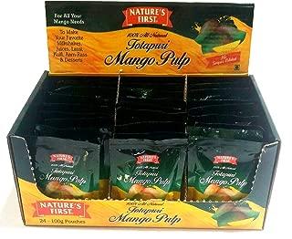 Nature's First Totapuri Mango Pulp, 84.72 OZ (Pack of 24)