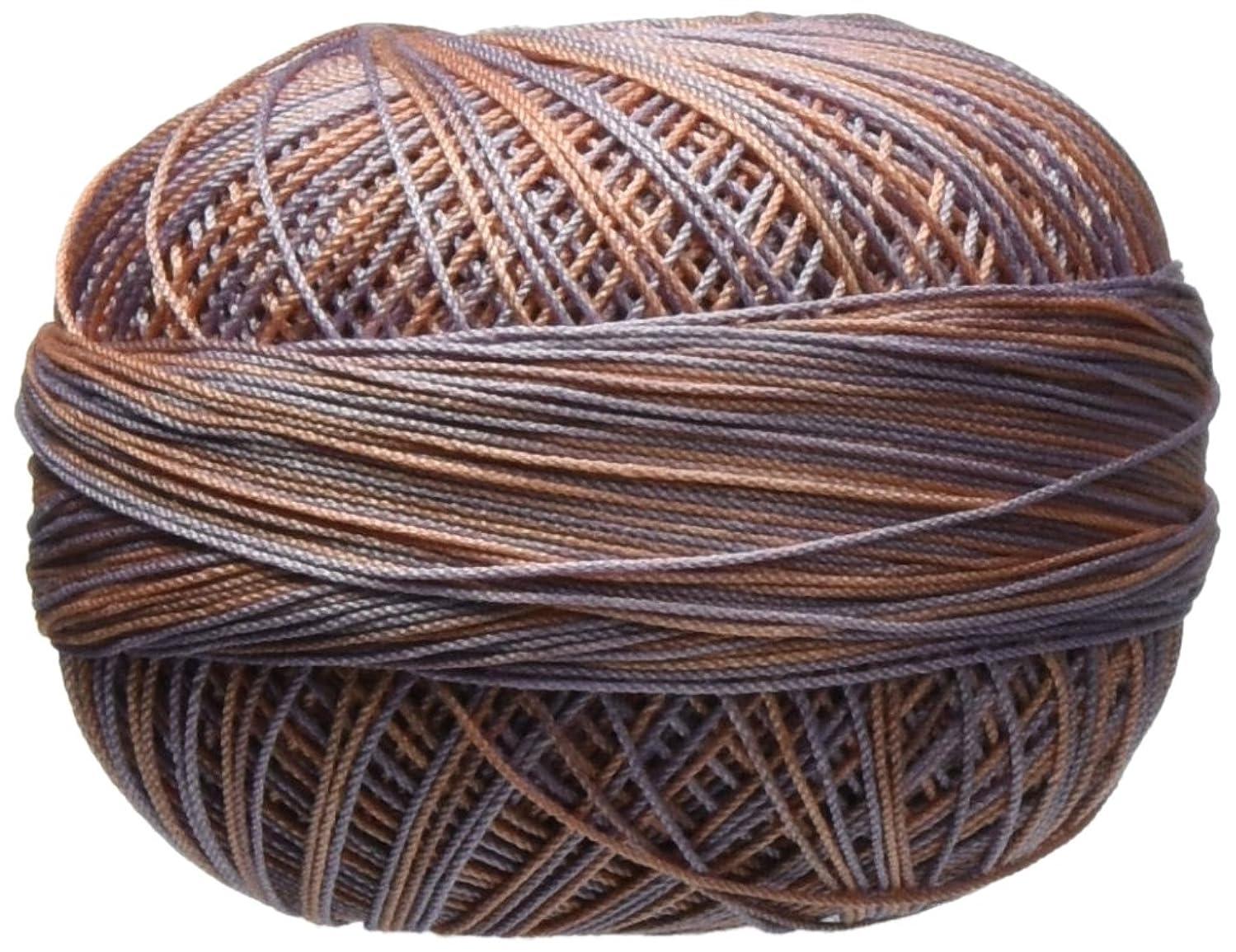 Handy Hands 210-Yard Lizbeth Cotton Thread, 25gm, Sea Shells
