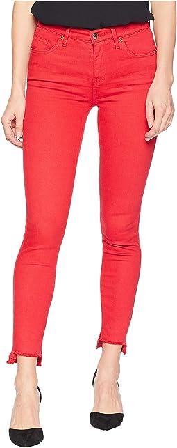 Denim Skinny Jeans w/ Tie Back