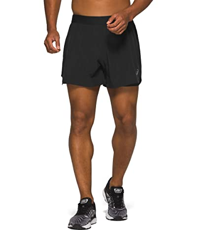ASICS Road 2-in-1 5 Shorts (Performance Black) Men