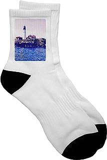 FUNINDIY The Perfect Horse Portrait Athletic Tube Socks Women Men High Socks Crazy Socks