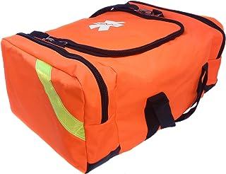 Ever Ready First Aid Large EMT First Responder Trauma Bag - Orange
