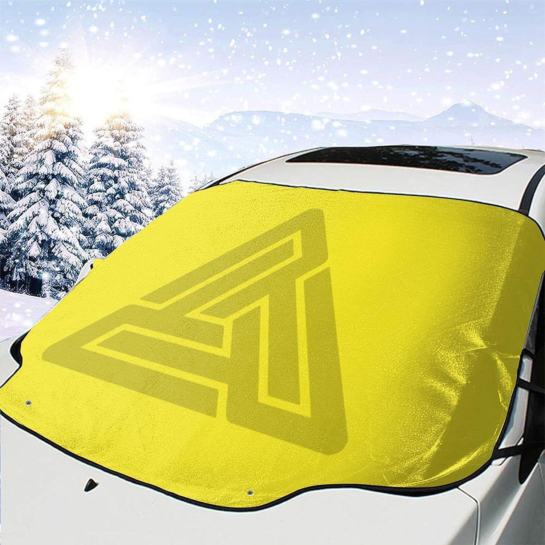 AMYHERFORD Black Pyramid Windshield shipfree Snow Car Visor Max 59% OFF Cover Windshi