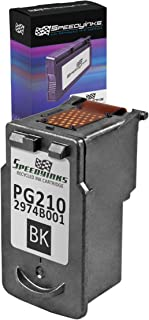 Speedy Inks Remanufactured Ink Cartridge Replacement for Canon PG 210 (Black)