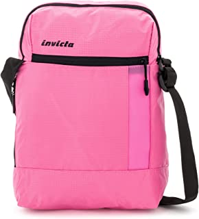 Invicta Vertical Shoulder Bag Bolso Bandolera, 34 cm, 8 Liters, Rosa