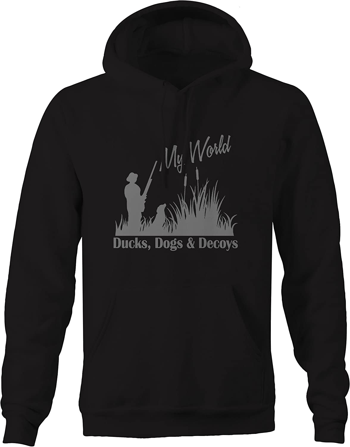 Stealth  s Dogs Decoys  My World  Waterfowl Hunting sweatshirt  Large
