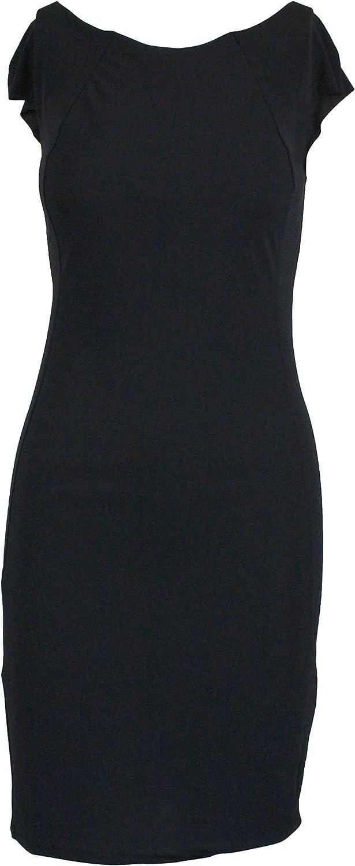 Patrizia Pepe Women's BA1703AZ26K103 Black Polyamide Dress
