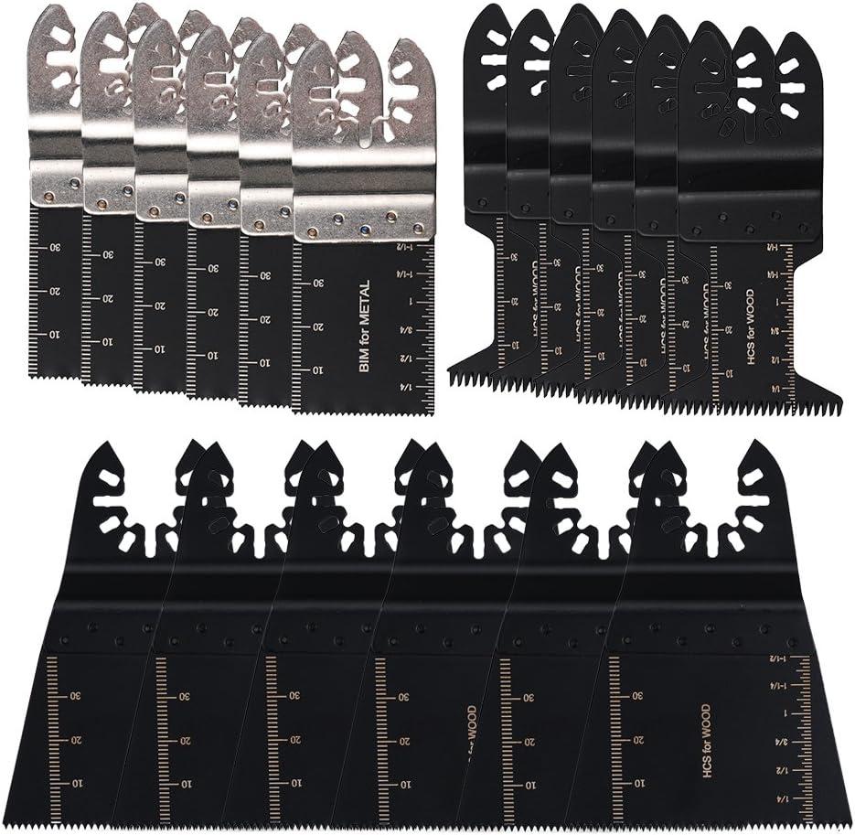 HIFROM Bi-Metal Wood Plastic Oscillating Multitool Max 88% OFF Soft-Metal Tulsa Mall