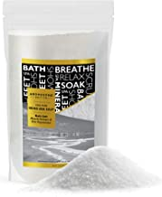 Dead Sea salt, Mineral Spa bath salts, 4.4 Lbs Fine Grain Large bulk resealable pack, 100% Pure & natural, Used for Body wash Scrub, Soak for Women & Men to relax tired muscles and treat skin issues
