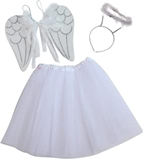 angel costume with tutu