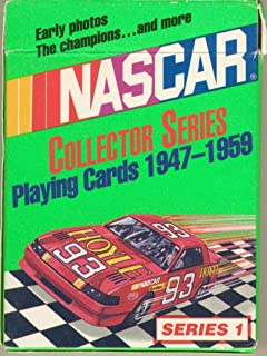 Hoyle Nascar Collector Series Playing Cards 1947-1959 Series 1