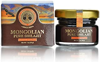 Authentic Mongolian Shilajit, Natural and Pure, 1 OZ