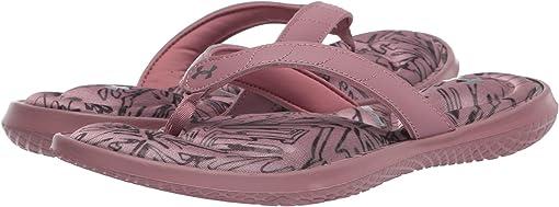 Hushed Pink/Hushed Pink/Metallic Gunmetal