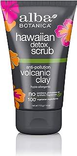 Alba Botanica Anti-Pollution Volcanic Clay Hawaiian Detox Scrub, 4 oz.