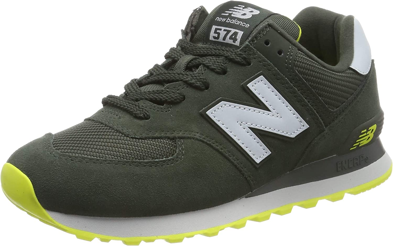 New Balance 574v2, Sneaker Uomo, Verde (Green/Yellow Green/Yellow ...