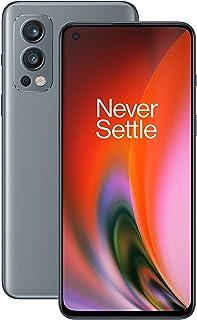 OnePlus Nord 2 5G 8 GB RAM 128 GB sim-vrije smartphone met drievoudige camera en 65W Warp Charge - 2 jaar garantie - Grey ...