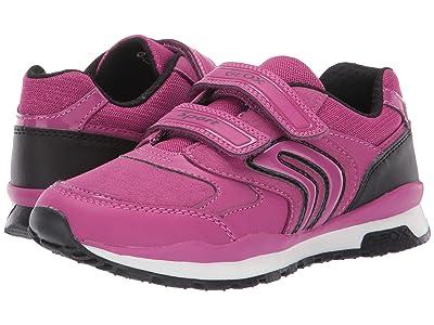 Geox Kids Jr Pavel 5 (Little Kid/Big Kid) (Fuchsia/Black) Girls Shoes