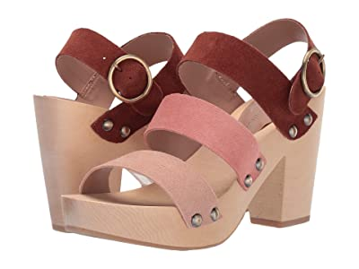 Chinese Laundry Fayla (Rust/Clay Split Suede) High Heels