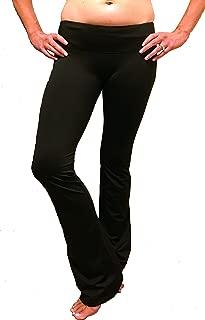 Sexy Crotchless Yoga Pants - Boot Cut