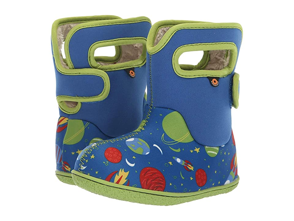 Bogs Kids Bogs Space (Toddler) (Blue Multi) Boys Shoes
