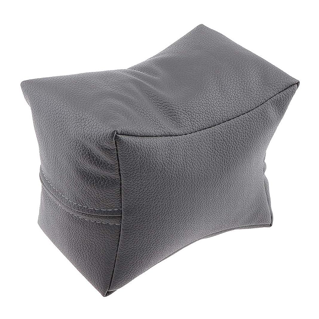 記述する放送ワインCUTICATE マニキュア ハンドレスト 手枕 ハンドピロー ハンドクッション ソフト 4色選べ - グレー