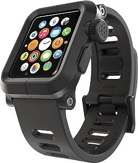 LUNATIK EPIK Polycarbonate Case and Silicone Strap for Apple Watch Series 1, Black/Black