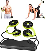 RevoFlex Extreme Abdominal Wheel All in One Core Muscle Roller Sculpt your Body Dual Tension Ab Muscle Toner