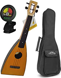 Magic Fluke Co. M10 Fluke Ukulele Natural w/ Gig Bag and Tuner
