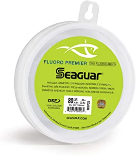 Seaguar Fluoro Premier 25-Yards Fluorocarbon Leader (80-Pounds)