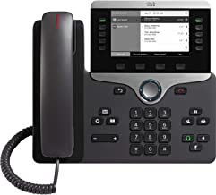 $88 » Cisco 8811 IP Phone with Multiplatform Firmware - CP-8811-3PCC-K9 (Renewed)