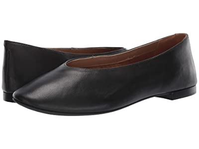Aerosoles Front Runner (Black Leather) Women
