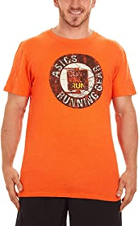 ASICS Men`s Running Gear Short-Sleeve T-Shirt
