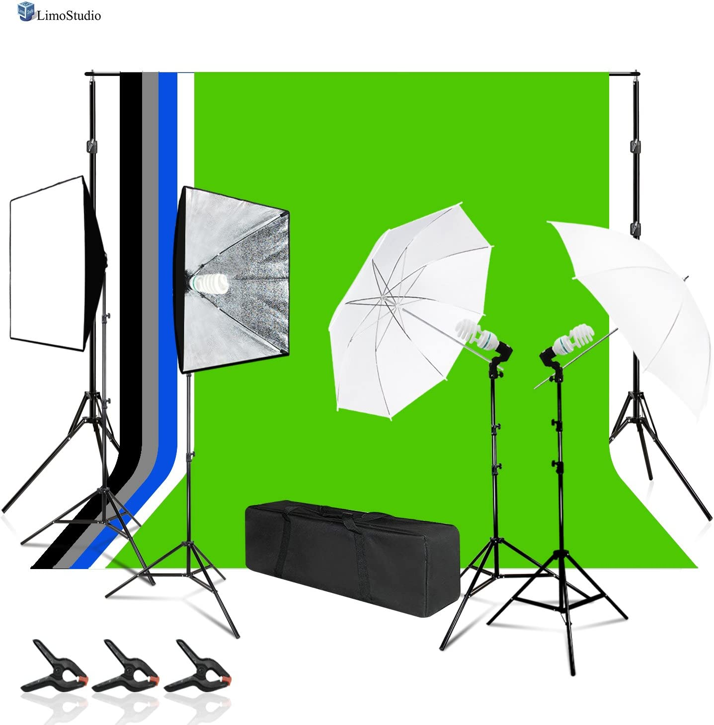 LimoStudio Photo Video Background Backdrop with Max 75% OFF Lighting Sales of SALE items from new works Kit Sup