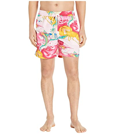 Polo Ralph Lauren Explorer Swim Trunks (Multi) Men