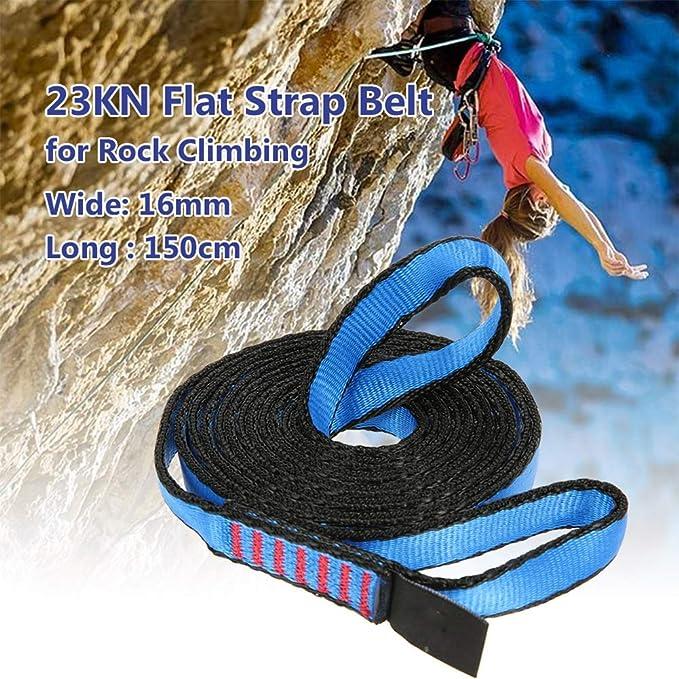 23kn 150 Cm/4.9ft Escalada Runner Sling, Nylon Rock Climbing ...